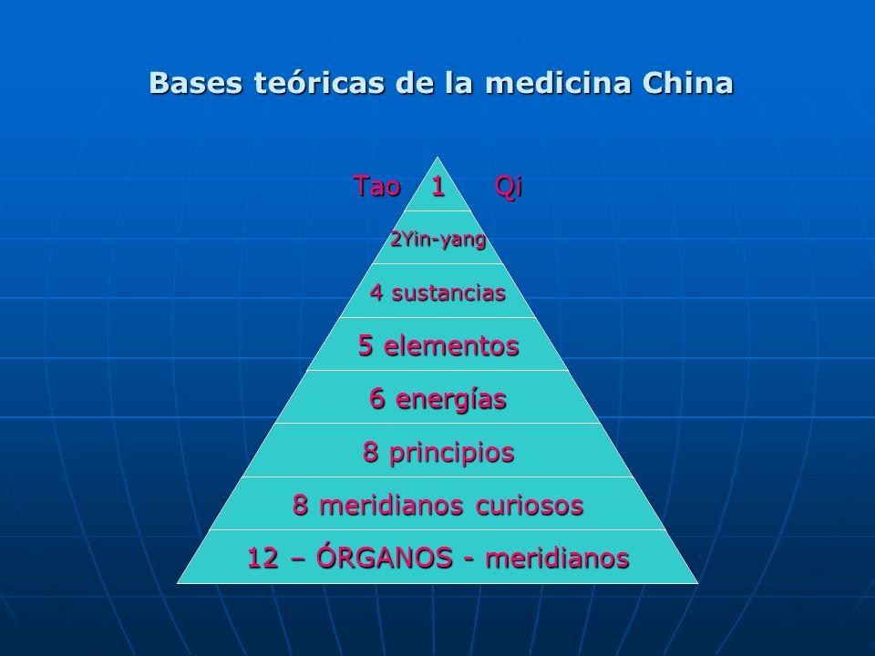 Bases teóricas de la medicina China