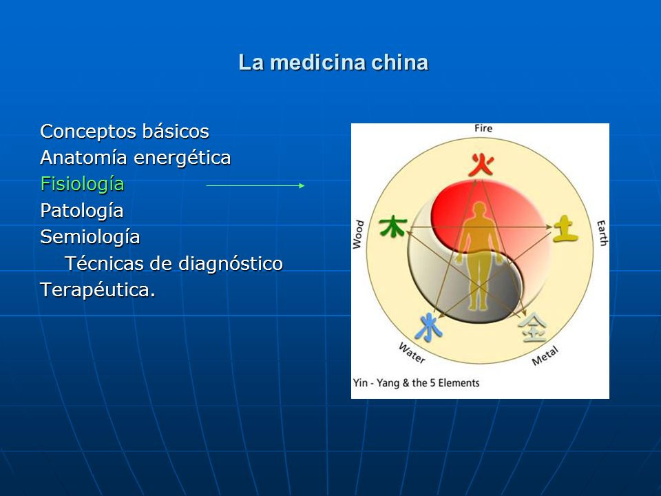 La medicina china Conceptos básicos Anatomía energética Fisiología