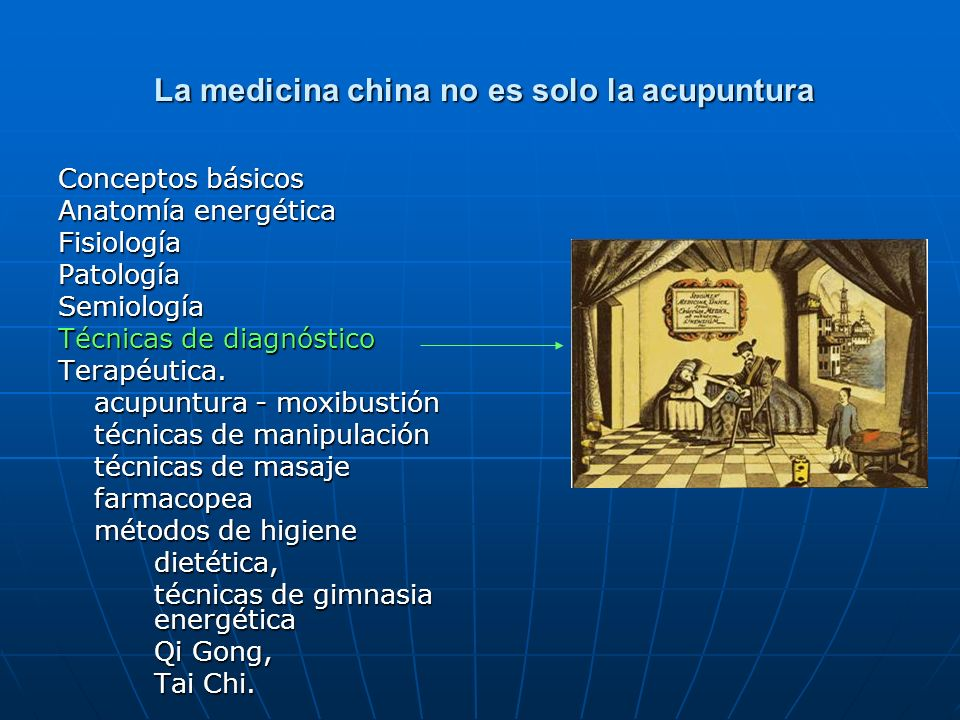 La medicina china no es solo la acupuntura