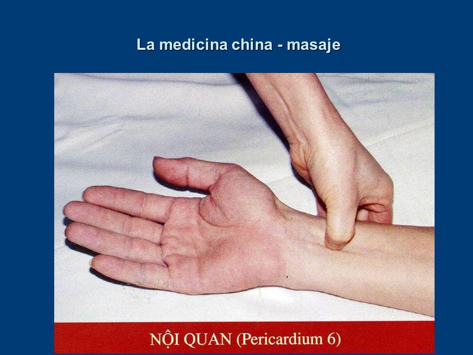 La medicina china - masaje
