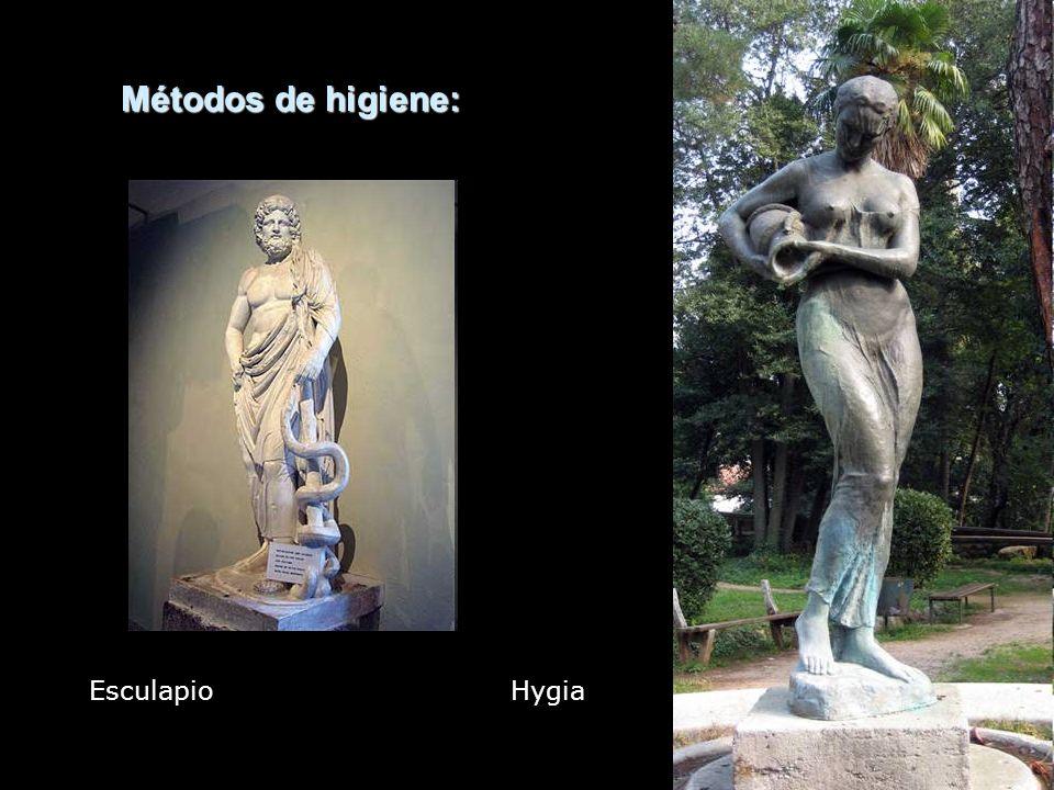 Métodos de higiene: Esculapio Hygia