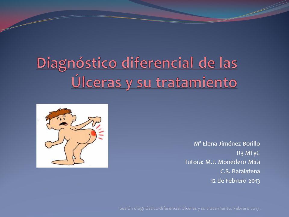 Diagnóstico diferencial de las Úlceras y su tratamiento