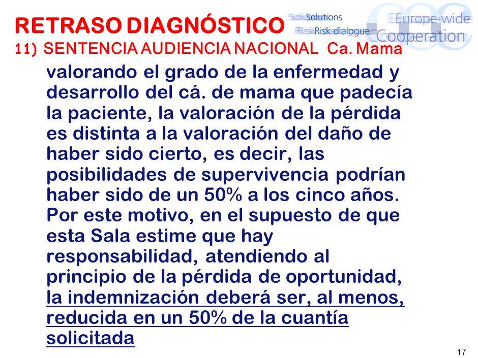 RETRASO DIAGNÓSTICO 12) SAN 5. NOV. 03 (PROPIA) Ca. Pulmón