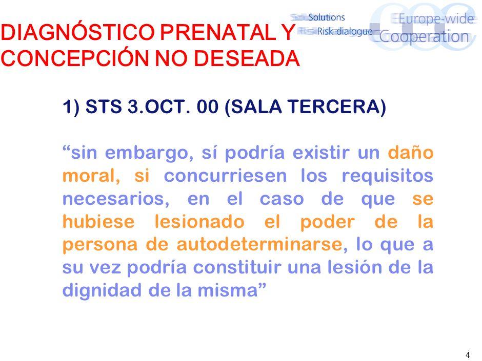 DIAGNÓSTICO PRENATAL Y CONCEPCIÓN NO DESEADA