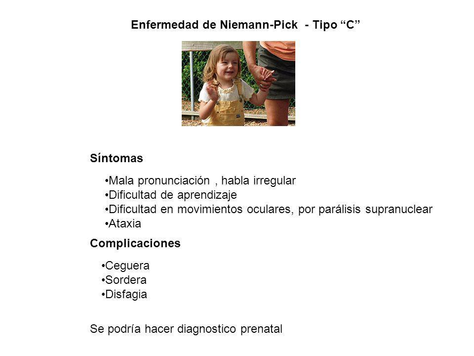 Enfermedad de Niemann-Pick - Tipo C