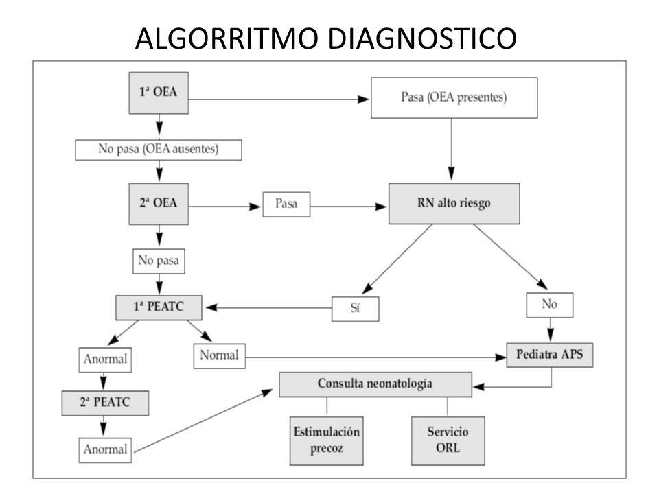 ALGORRITMO DIAGNOSTICO