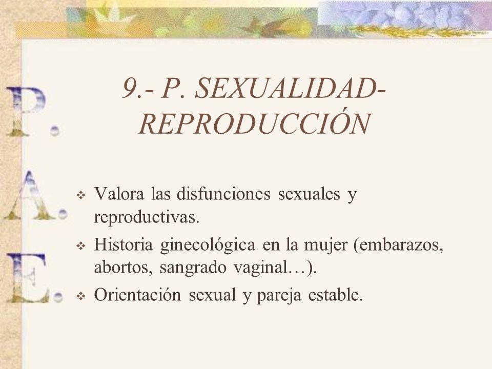 9.- P. SEXUALIDAD-REPRODUCCIÓN