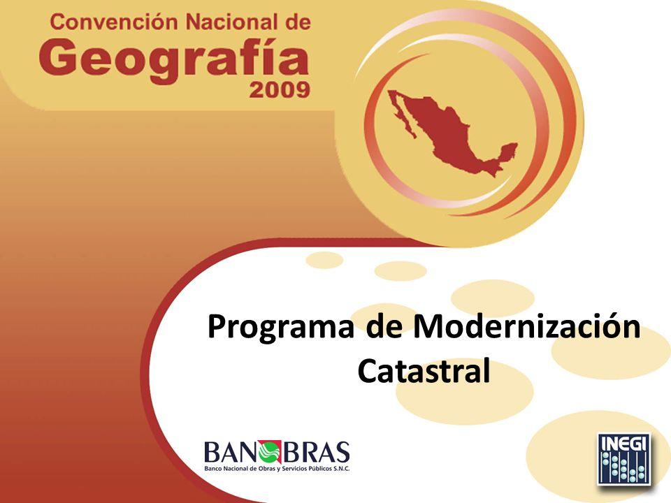 Programa de Modernización Catastral