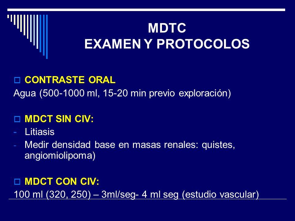 MDTC EXAMEN Y PROTOCOLOS