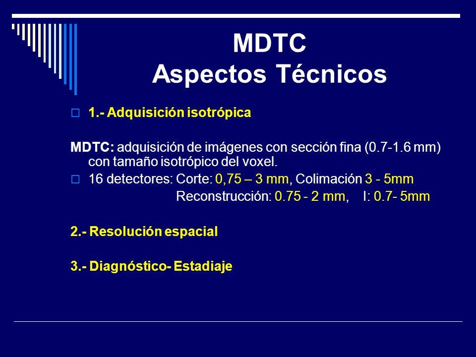 MDTC Aspectos Técnicos