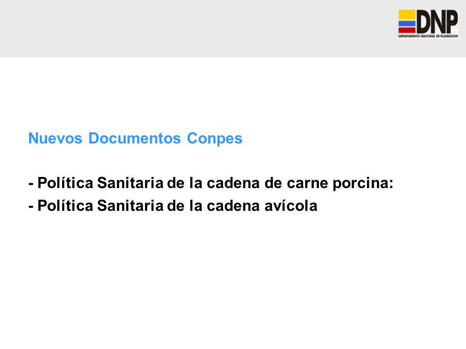 Nuevos Documentos Conpes