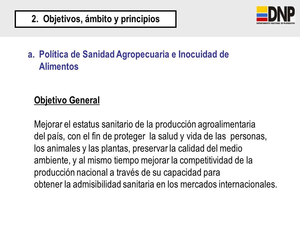 2. Objetivos, ámbito y principios
