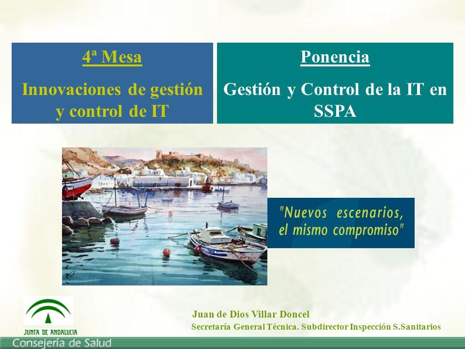 Innovaciones de gestión y control de IT Ponencia