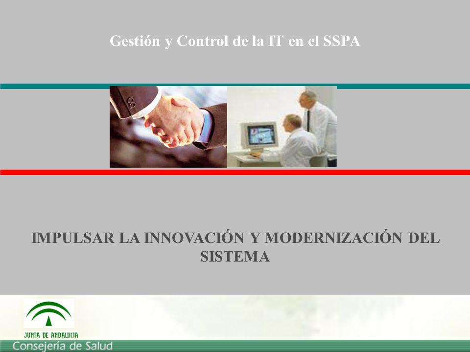Gestión y Control de la IT en el SSPA