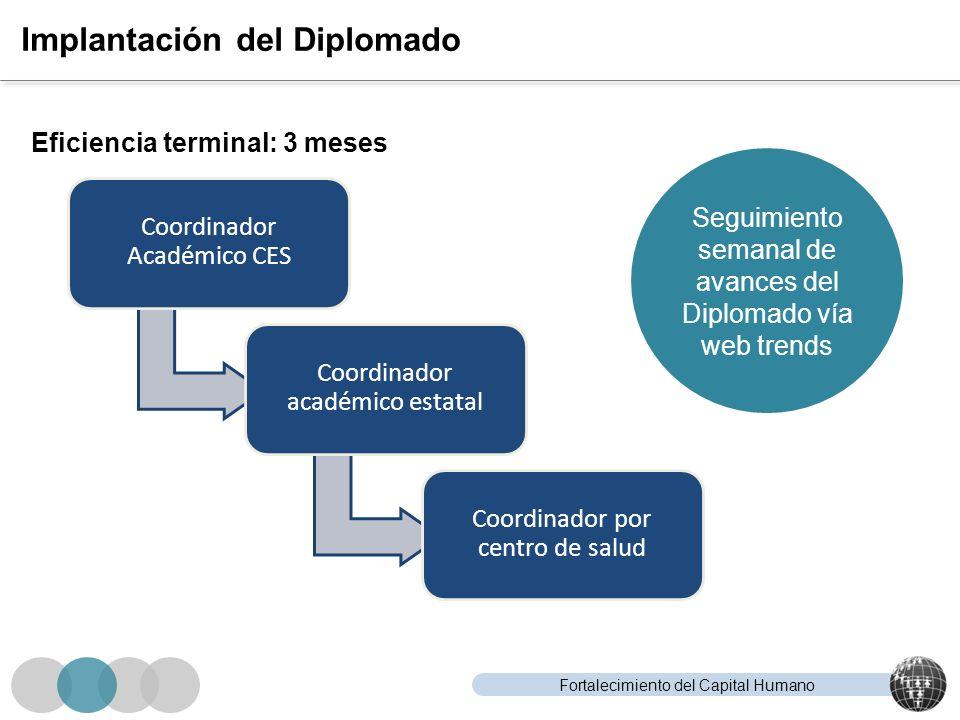 Implantación del Diplomado
