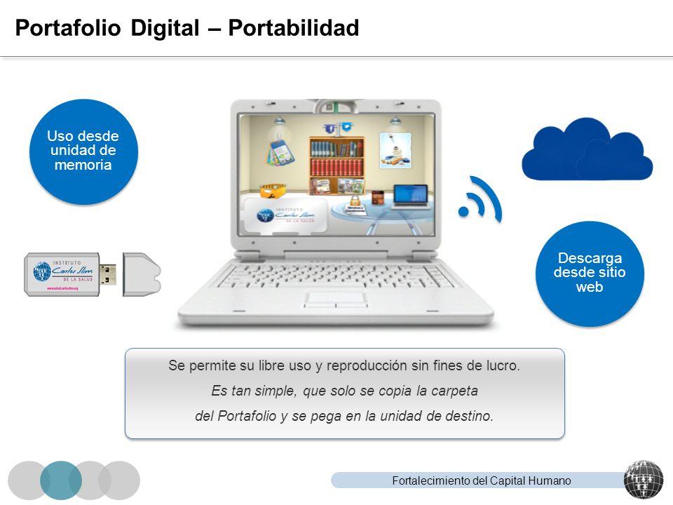 Portafolio Digital – Portabilidad