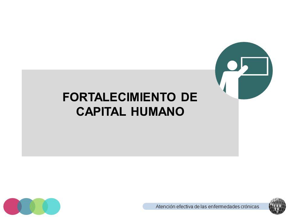 FORTALECIMIENTO DE CAPITAL HUMANO