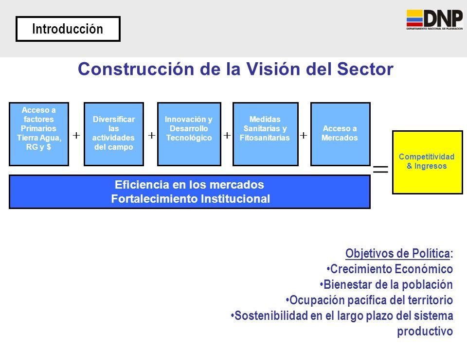 Construcción de la Visión del Sector