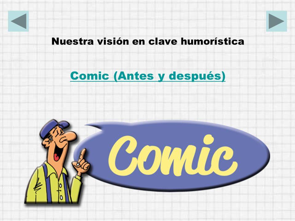 Comic (Antes y después)