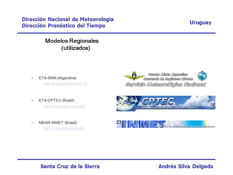 Modelos Regionales (utilizados)