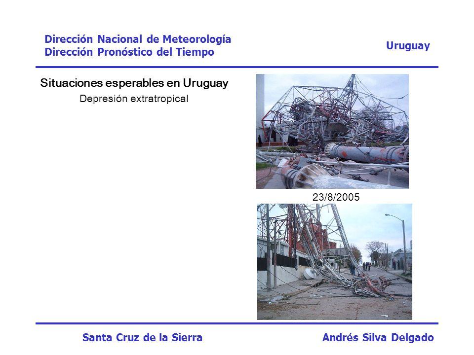 Situaciones esperables en Uruguay