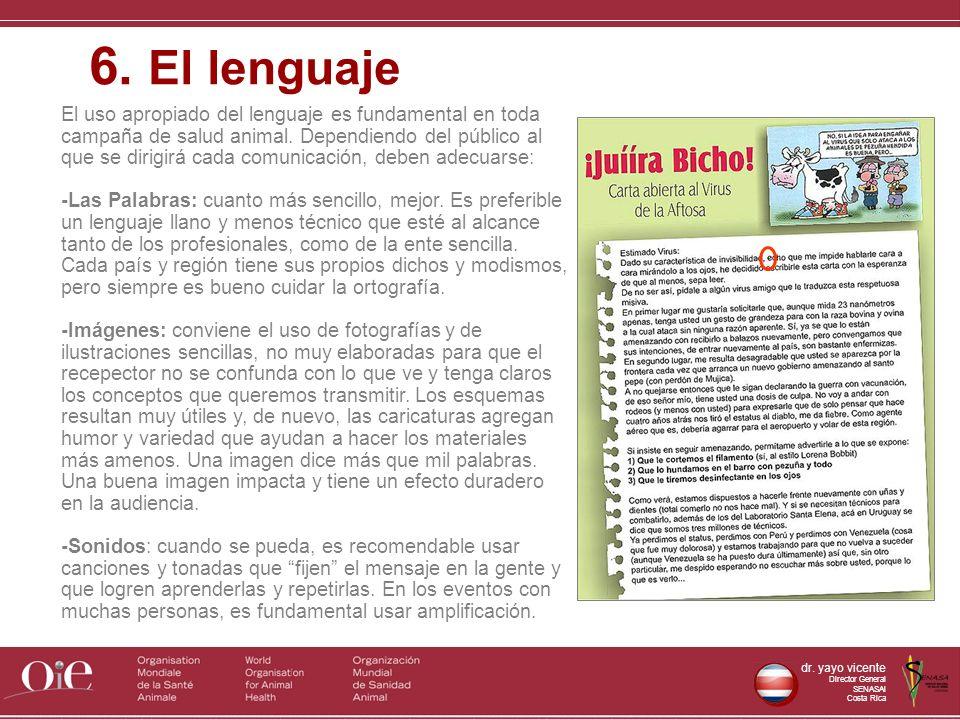 6. El lenguaje