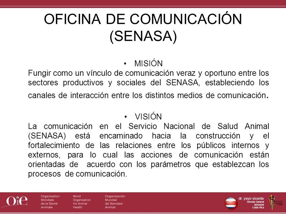 OFICINA DE COMUNICACIÓN (SENASA)