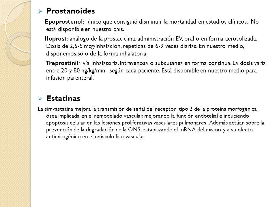 Prostanoides Estatinas