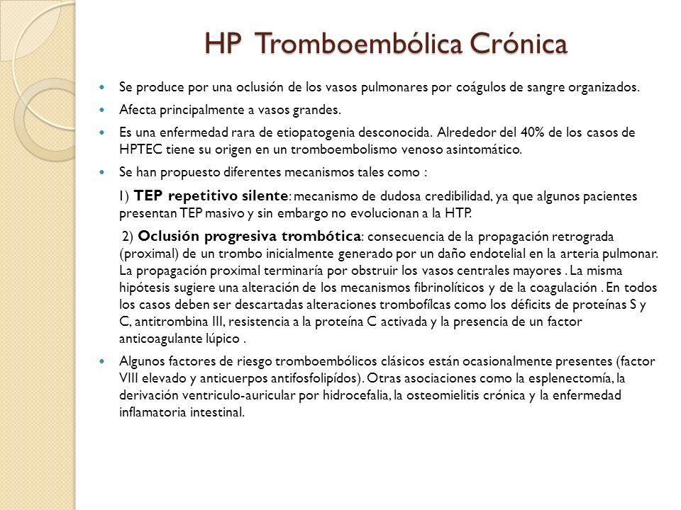HP Tromboembólica Crónica