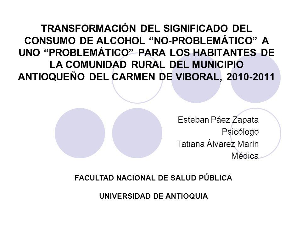 Esteban Páez Zapata Psicólogo Tatiana Álvarez Marín Médica