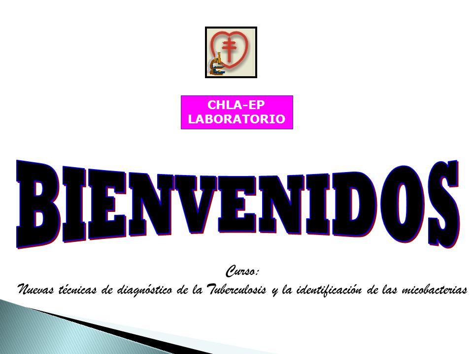 CHLA-EP LABORATORIO BIENVENIDOS.