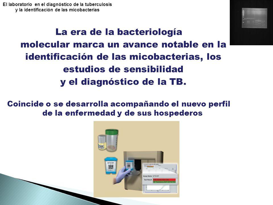 La era de la bacteriología molecular marca un avance notable en la