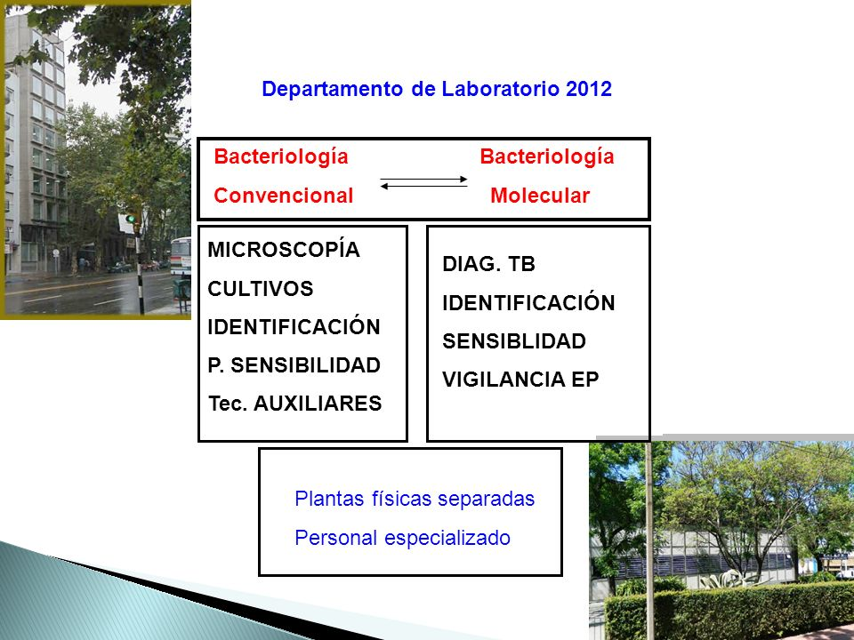 Departamento de Laboratorio 2012