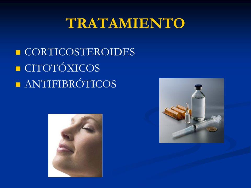 TRATAMIENTO CORTICOSTEROIDES CITOTÓXICOS ANTIFIBRÓTICOS