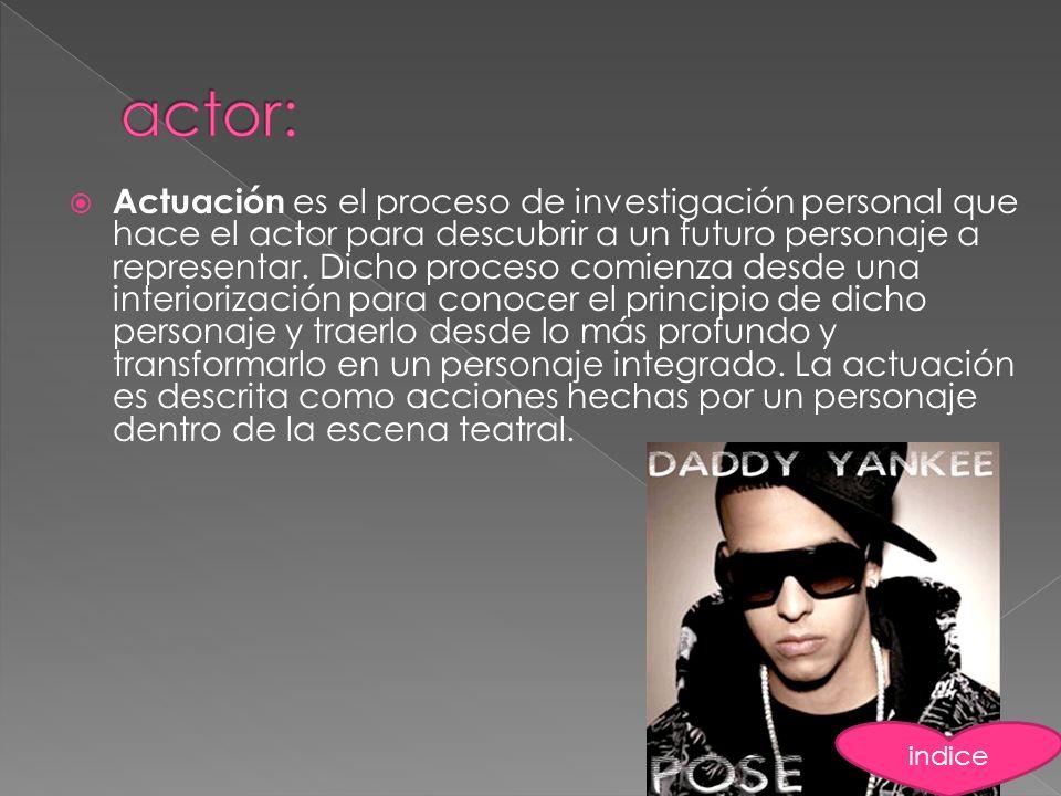 actor: