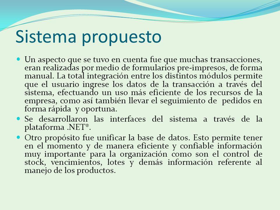 Sistema propuesto
