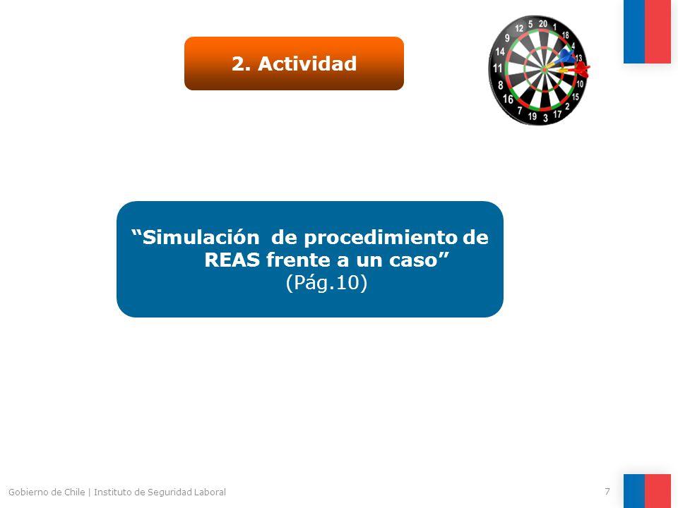 Simulación de procedimiento de REAS frente a un caso (Pág.10)