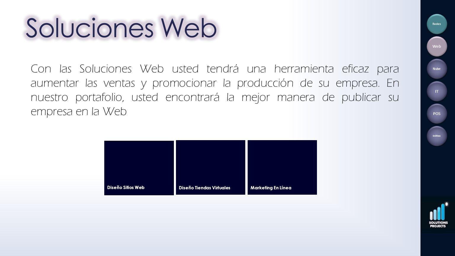 Soluciones Web Redes. Web.