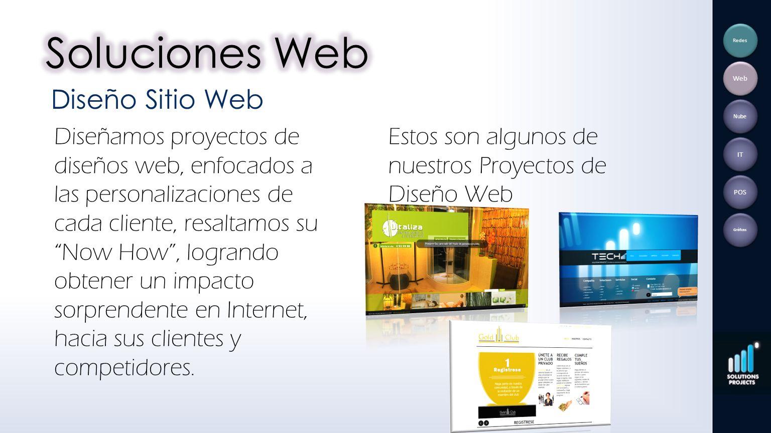 Soluciones Web Diseño Sitio Web