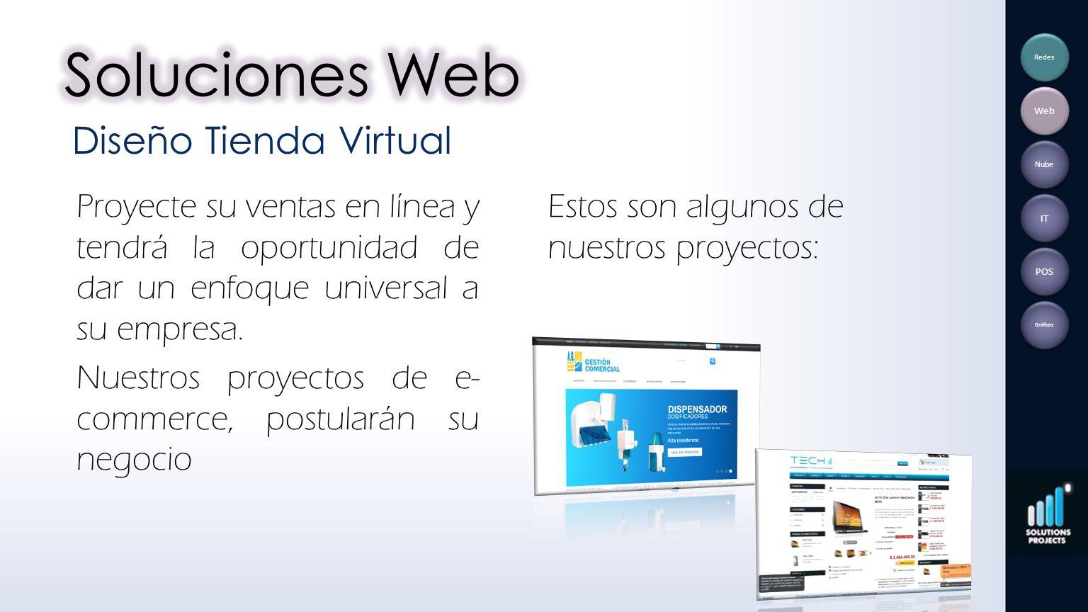 Soluciones Web Diseño Tienda Virtual