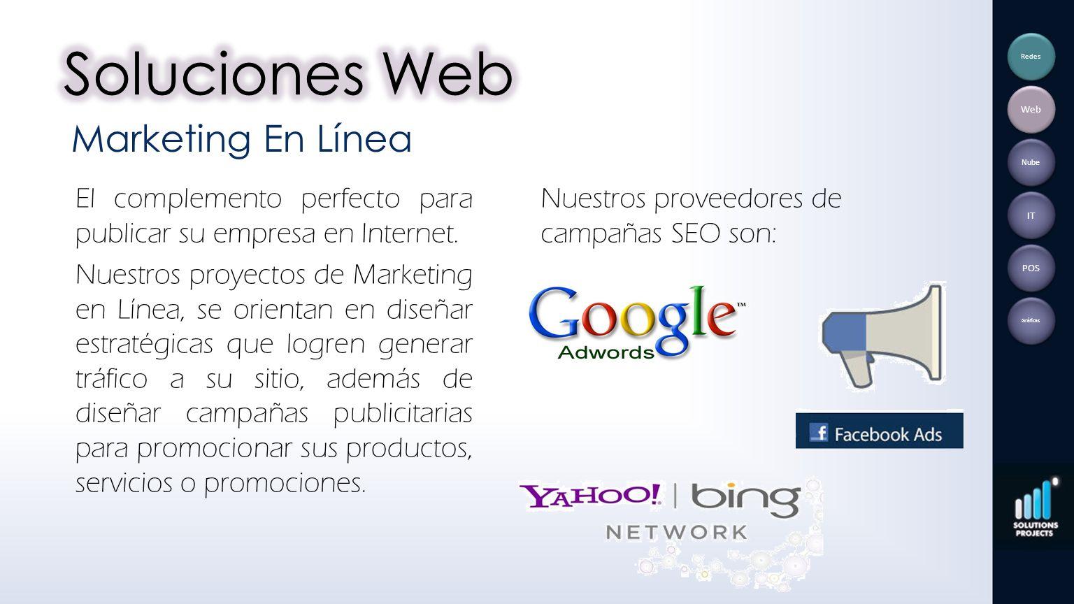 Soluciones Web Marketing En Línea