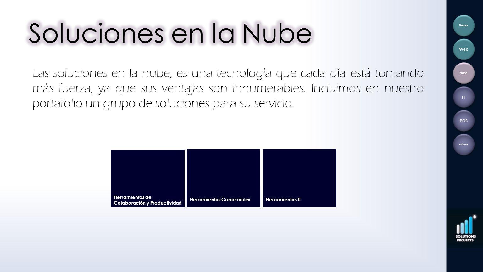 Soluciones en la Nube Redes. Web.