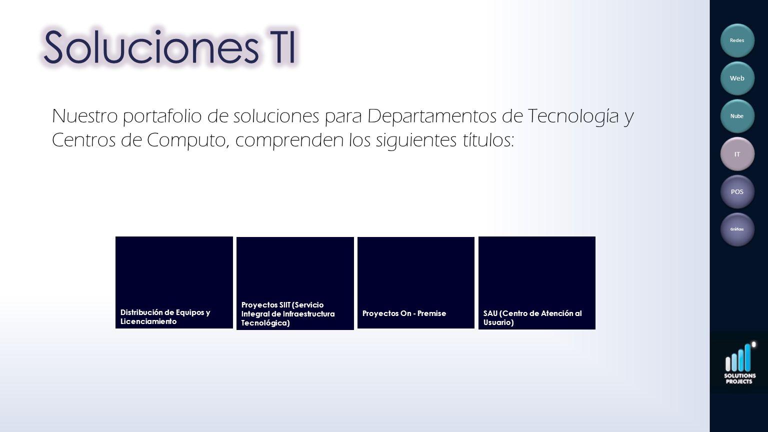 Soluciones TI Redes. Web.