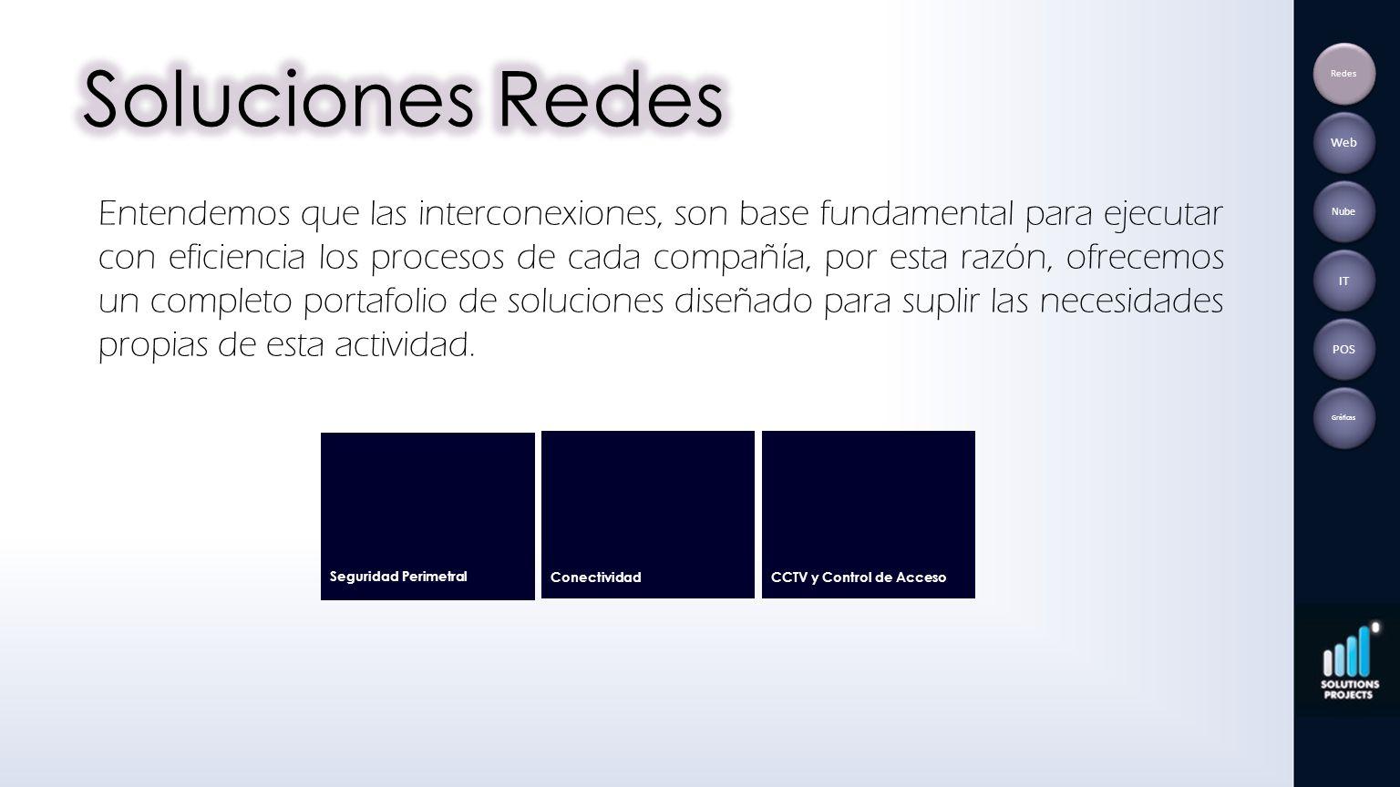 Soluciones Redes Redes. Web.