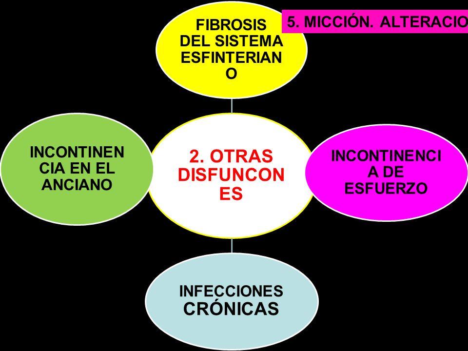 2. OTRAS DISFUNCONES FIBROSIS DEL SISTEMA ESFINTERIANO