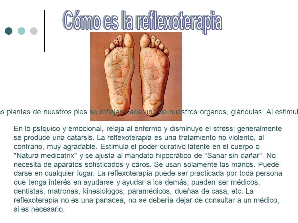 Cómo es la reflexoterapia