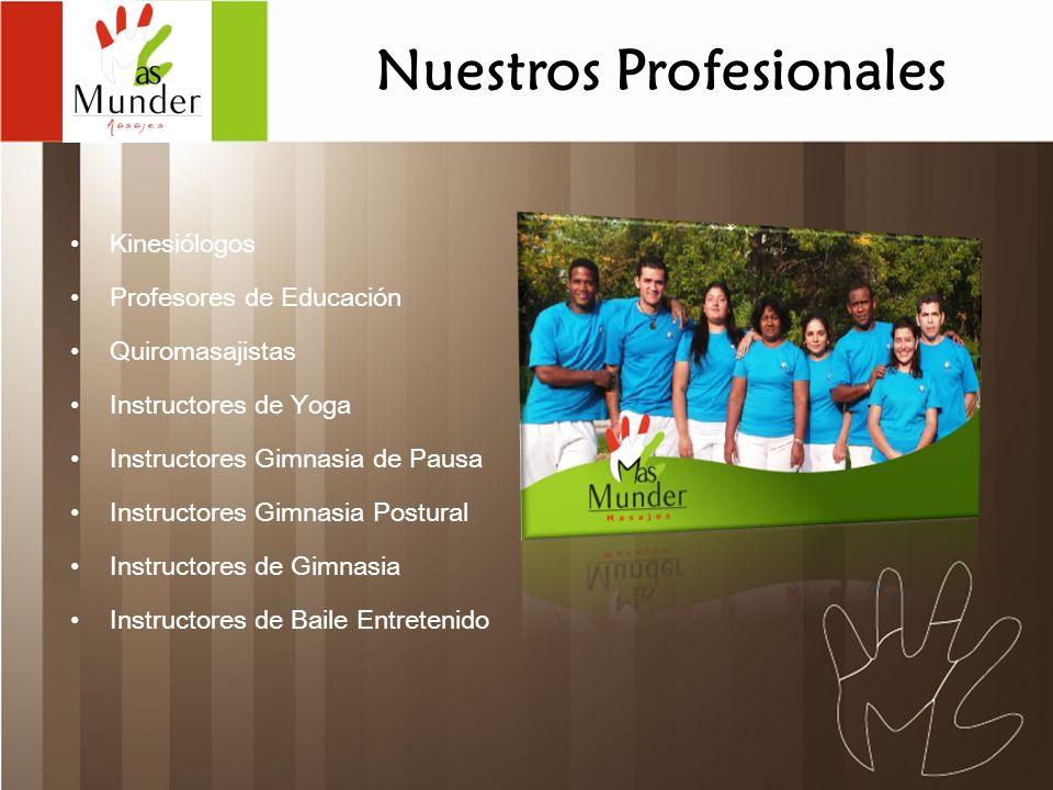 Nuestros Profesionales