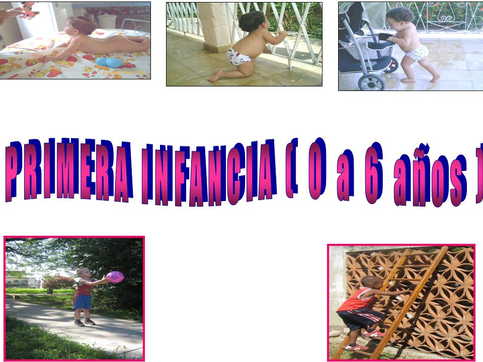 PRIMERA INFANCIA ( 0 a 6 años )