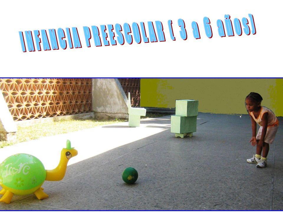 INFANCIA PREESCOLAR ( 3 a 6 años)