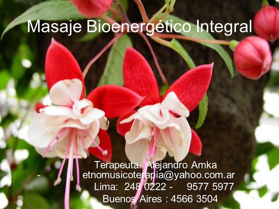 Masaje Bioenergético Integral